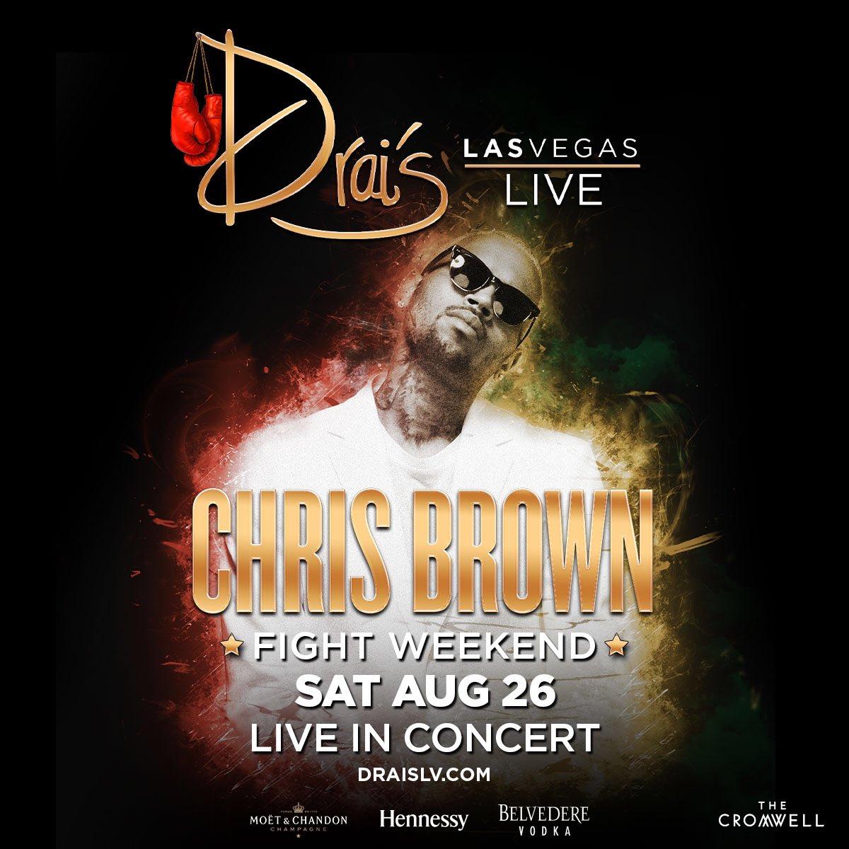 Vegas! I'm back for #FightWeekend at @DraisLV Nightclub on Saturday, August 26! Tickets: https://t.co/xZqcwM1t86 https://t.co/lwsJwmqqjJ