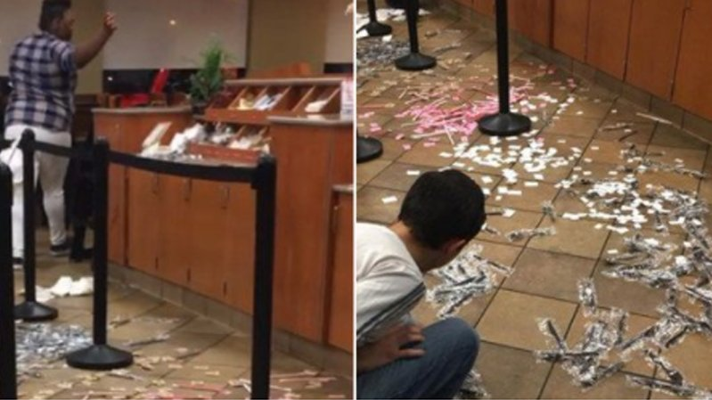 Video shows angry customers trash Florida Chick-fil-A over chickennuggets
