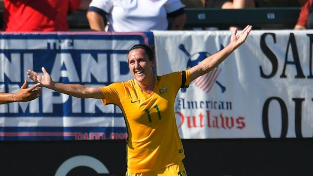 Matildas blitz Brazil 6-1 in Tournament of Nations masterclass