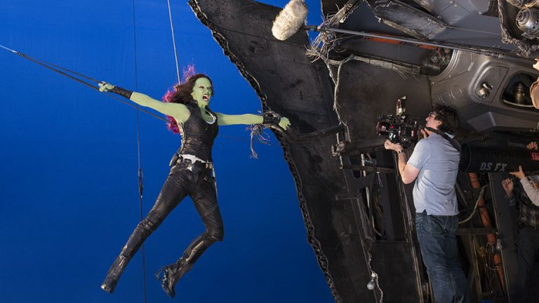 SIGGRAPH: GuardiansoftheGalaxy2 , SpiderMan secrets revealed by Marvel VFX teams