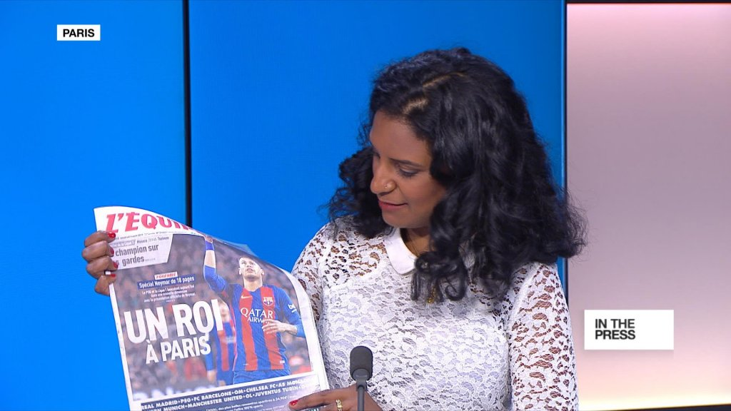 IN THE PAPERS - Neymar: 'The King of Paris'