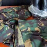 Police holds four for army uniform