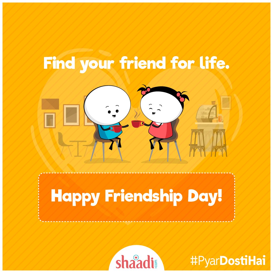 test Twitter Media - Here's wishing everyone a very #HappyFriendshipDay :)  #FriendshipDay #PyarDostiHai https://t.co/CKJuVMCOPW