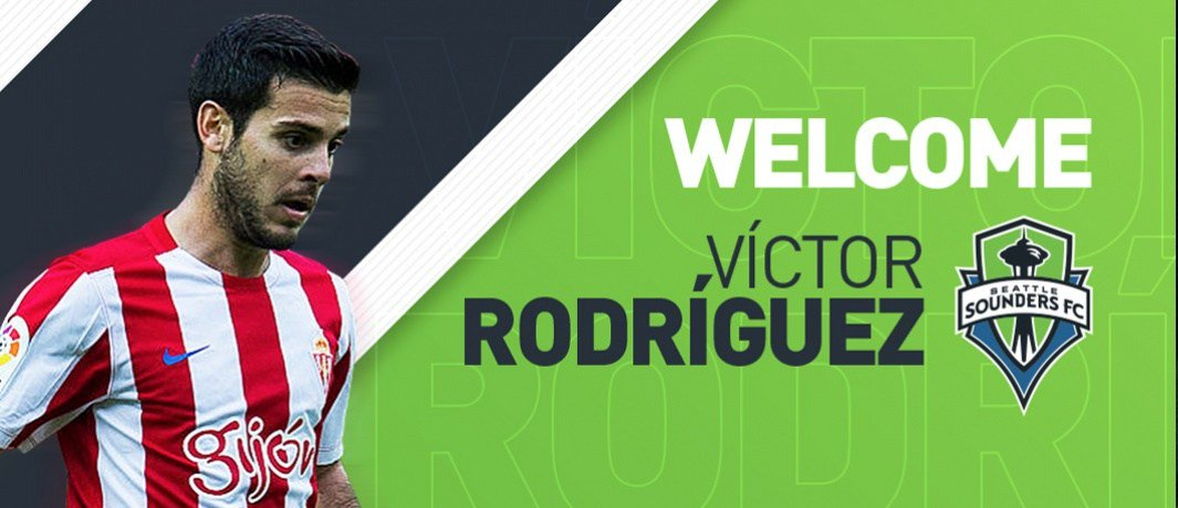 Sounders add winger Victor Rodriguez from La Liga 2