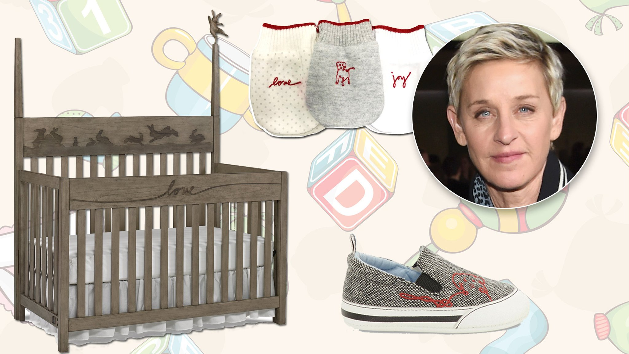 Cached Ellen degeneres baby pictures