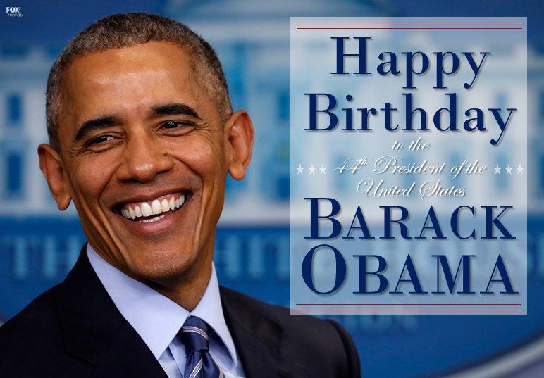 Happy 56th birthday to former President Barack Obama! https://t.co/ubTqSfldQB