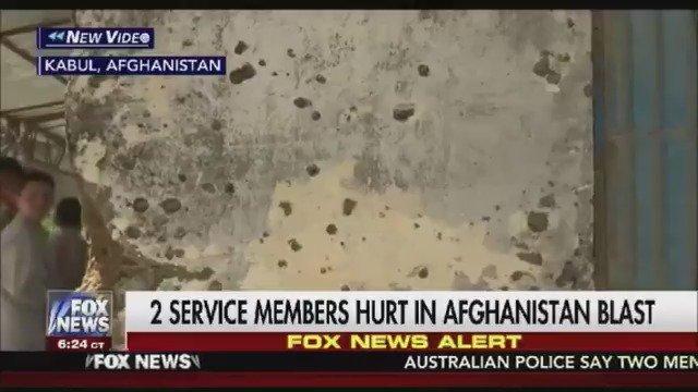 FOX NEWS ALERT: 2 U.S. service members injured in attack in Afghanistan https://t.co/gxnrh0RcIB