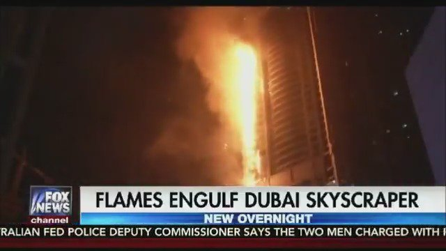 Massive fire rips through Dubai's Torch Tower https://t.co/fxLgyrK6hr