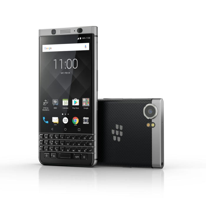 BACK TO THE FUTURE: #BLACKBERRY KEYONE LAUNCHES WITH PHYSICAL KEYBOARD...