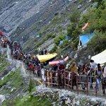 Around 850 pilgrims leave Jammu for Amarnath, BuddhaAmarnath