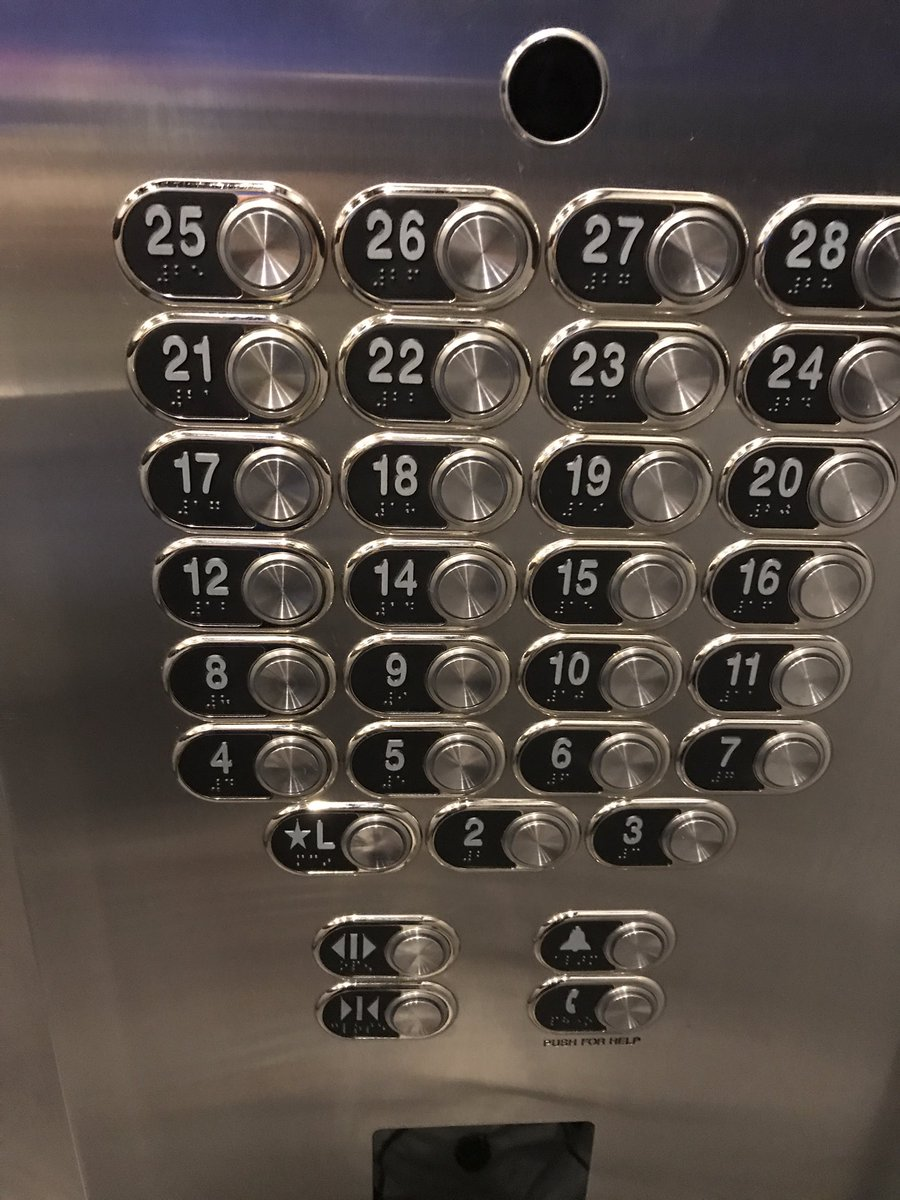 RT @KentHedtke: C'mon man...people on the 14th floor, you know what floor you're really on. @M_Hedberg https://t.co/0nQ7trKlhw