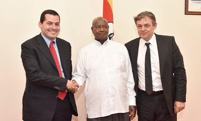 Museveni receives Serbian delegation