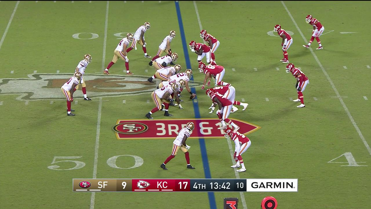 Beathard to @BournePoly11 for the touchdown! #SFvsKC https://t.co/w4TmmqDemU