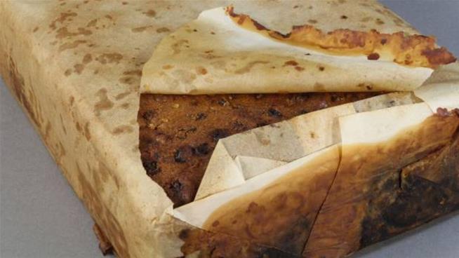 A 106-year-old fruitcake found in Antarctica still looks 'likenew'