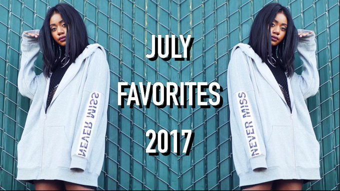 JULY FAVORITES 2017: Jord, H&M, 90's, + GIVEAWAY???