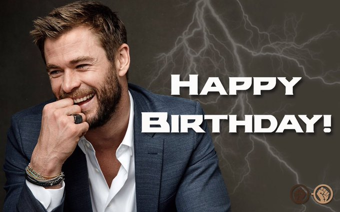 Happy Birthday to Chris Hemsworth aka Thor! The actor turns 34 today!
