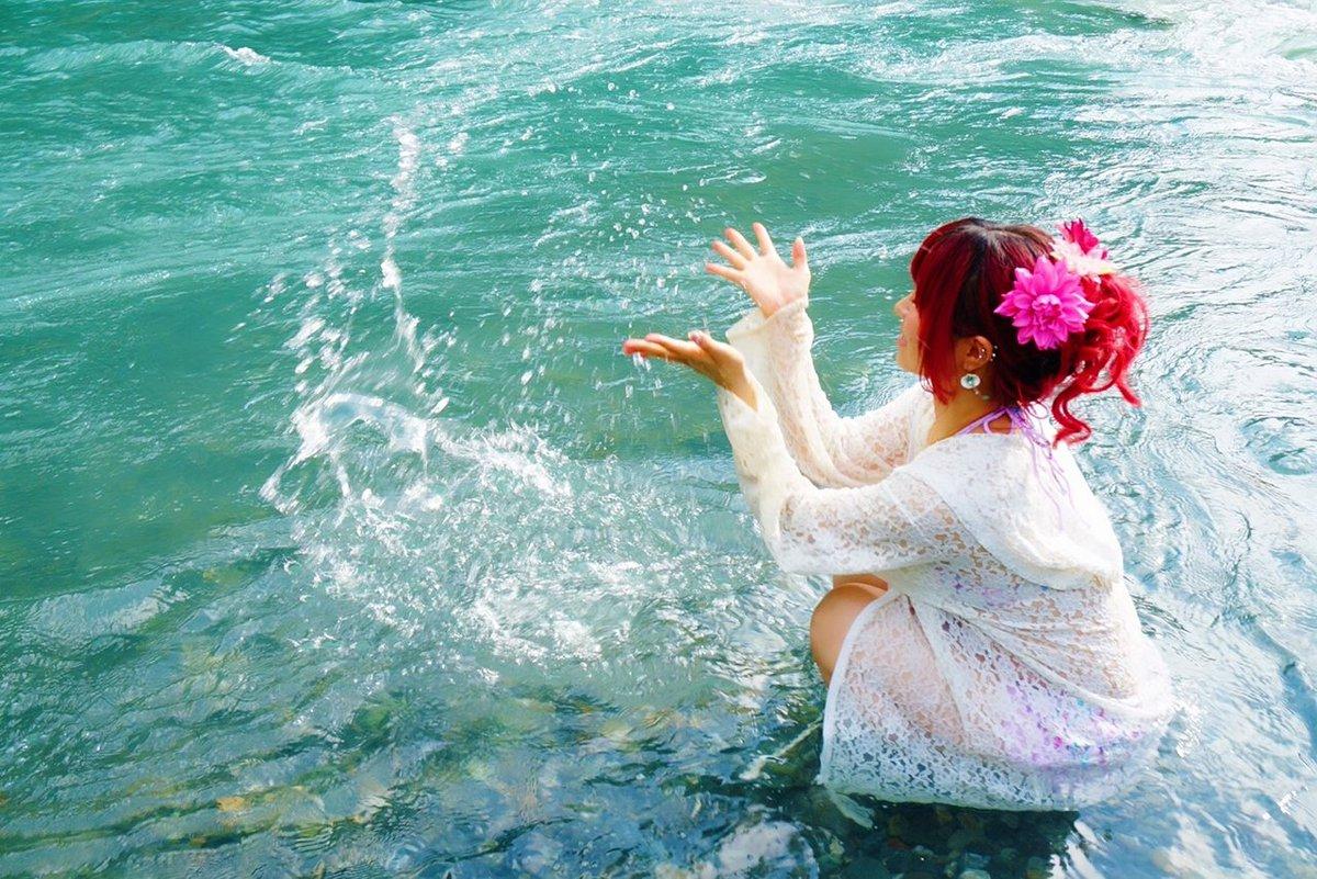 川遊び楽しかったから、お盆期間中仕事も頑張る!!!ԅ(*´∀`*ԅ)  みんなもお盆楽しんでね!#フランチェスカ #川遊