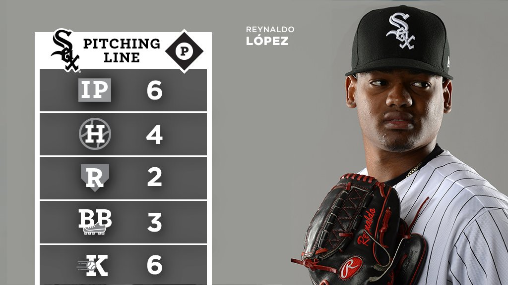 The line on López's #WhiteSox debut: https://t.co/R05Jhax3SU