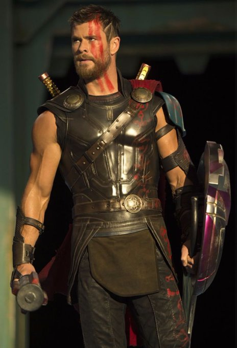 Happy Birthday to Thor himself ...Mr. Chris Hemsworth