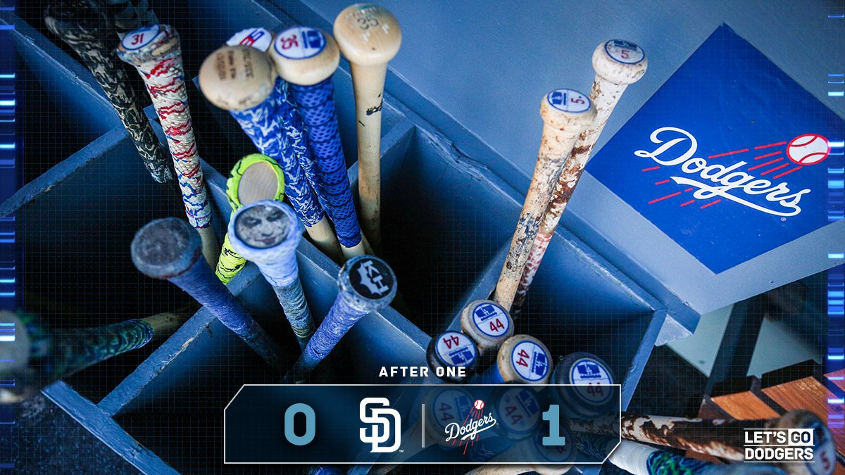 After 1:  #Dodgers 1, Padres 0  �� https://t.co/WEeJnXCt4D