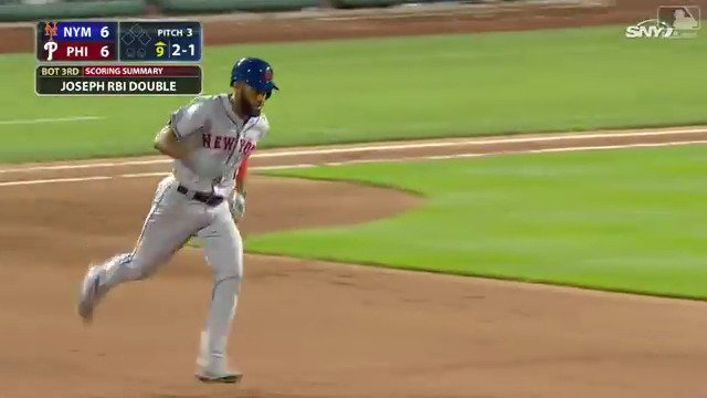 Homer No. 1 for @Amed_Rosario?  So clutch. https://t.co/ZUmBVYcHuI
