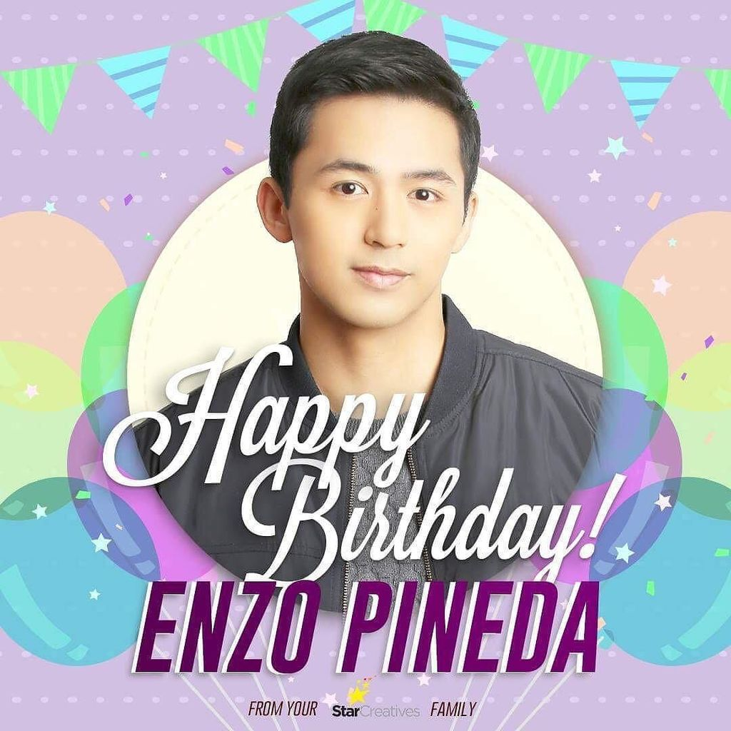 Happy birthday, Enzo Pineda!