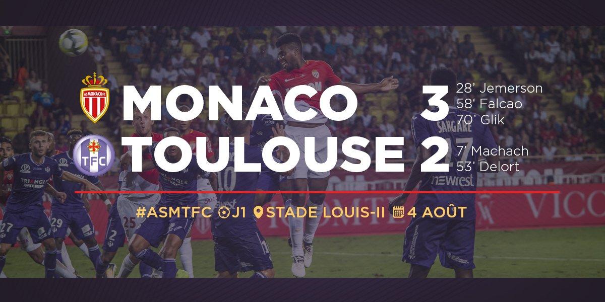 RT @ToulouseFC: 📝 Retour sur #ASMTFC :