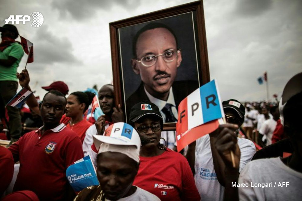 Kagame headed for landslide win as poll results trickle in