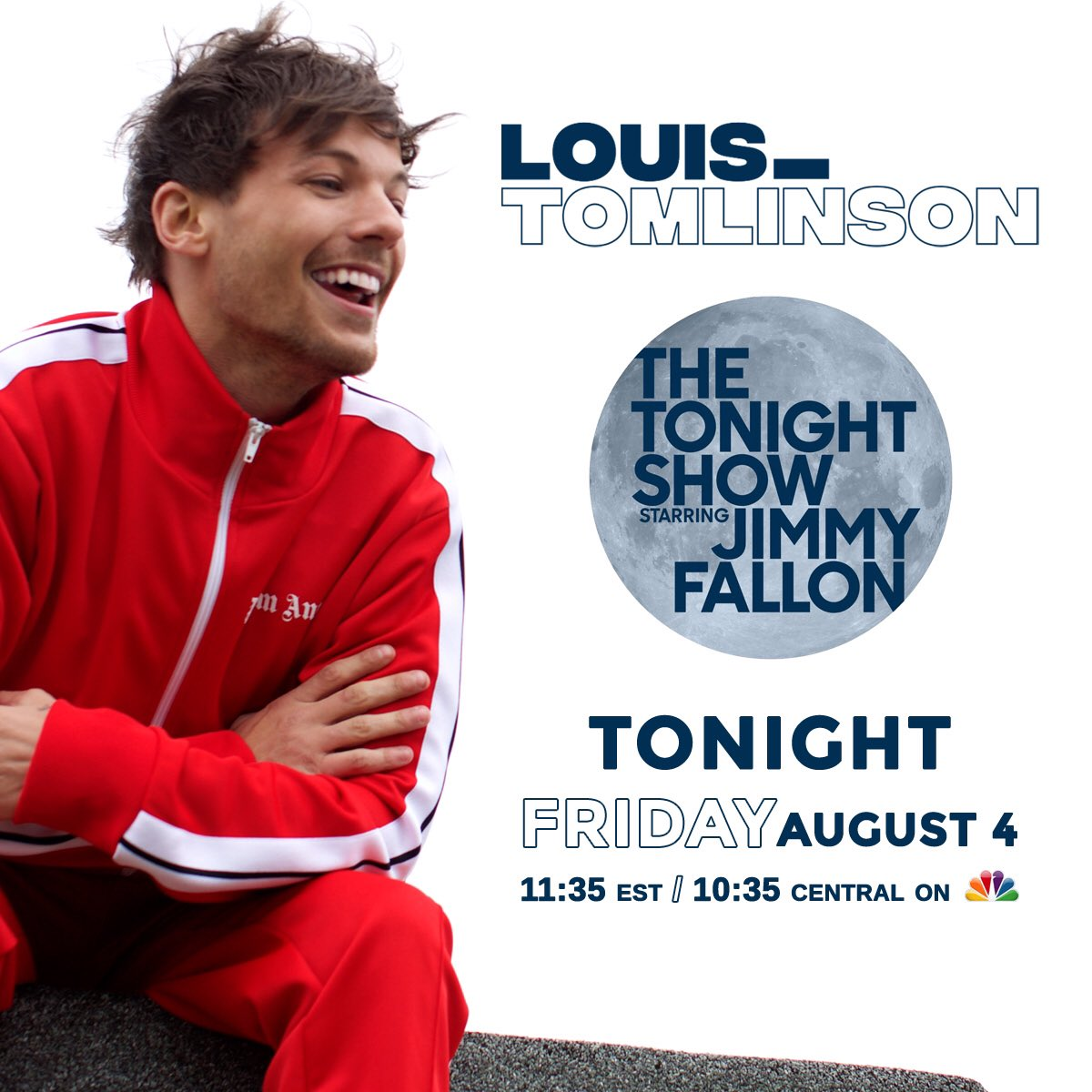 TONIGHT! Don't miss @Louis_Tomlinson performing 'Back To You' with @BebeRexha on @FallonTonight ������ https://t.co/zRa0mBH2Jb