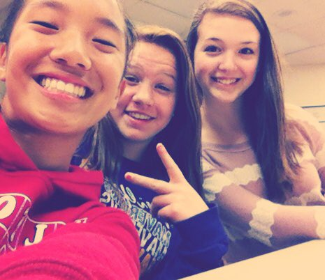 Happy birthday Mel! I\m going to miss having you in classes! Good luck at Madonna! Love you