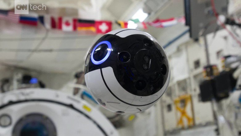 "This space station drone has drawn comparison to ""celebrity robots"" like BB-8"
