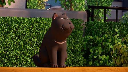 チーらよ!あちた はチーのアニメ 44カイめ「レッスンの思い出・前編」れす!みんな、みてねー!!みゃー!「こねこのチー