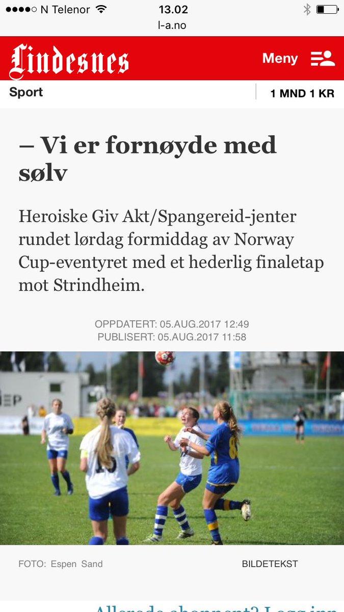 #norwaycup