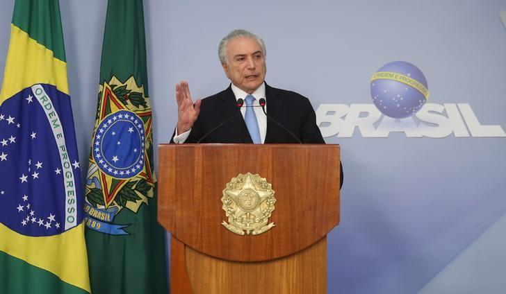 Brazil's president expects weaker pension bill to pass: paper