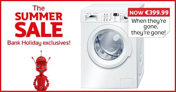 Bank yourself a bargain before it's too late as we've even more Summer Sale reductions! https://t.co/Pe93qIwfr6 https://t.co/bicg42AhsZ