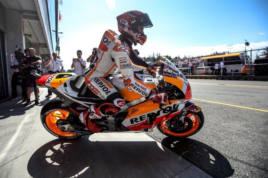 Marquez on pole for Czech GP