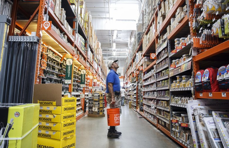 Hot housing market fuels business for home improvement stores