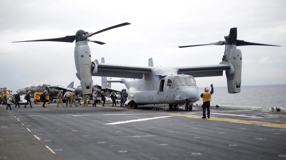 U.S. Marines search for three servicemembers off Australia after aviation 'mishap'