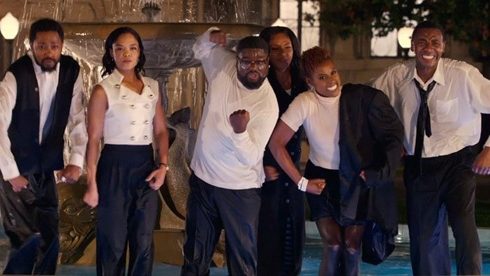 .@TiffanyHaddish, @IssaRae, & Jerrod Carmichael star in Friends-inspired JayZ music video