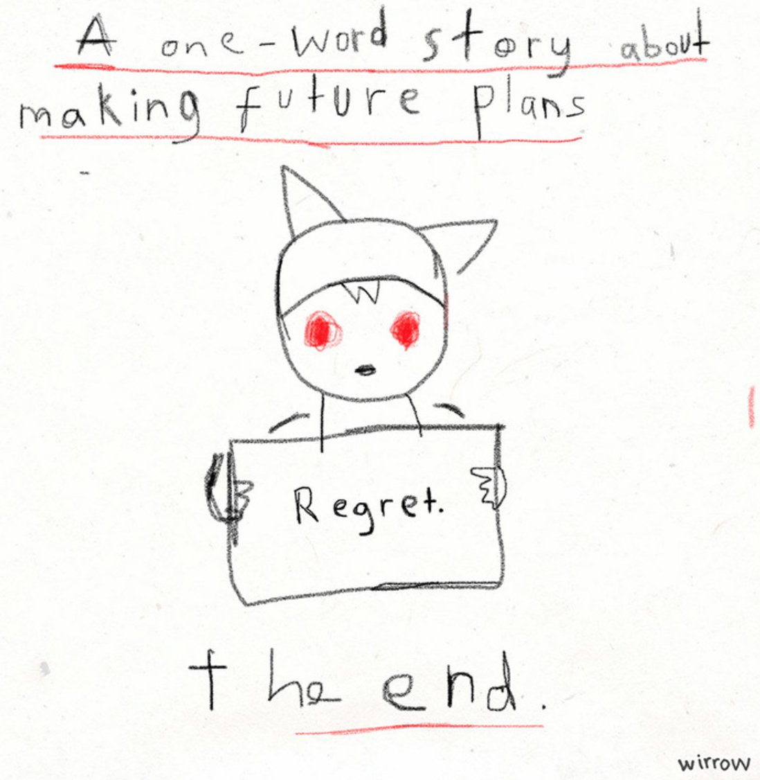 A one word story from an existentialist toddler... https://t.co/KyizLd1oL3 https://t.co/Jx98hMOS4w