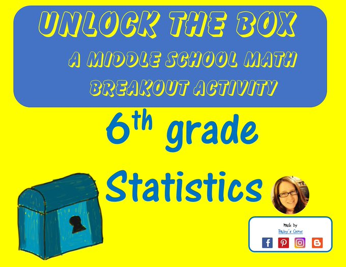 teacher breakoutedu freebies teacherspayteachers middleschoolmath