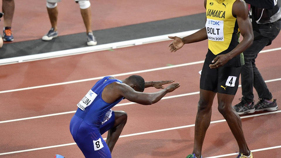 Bronze and gone: In a shocker, Usain Bolt takes third at worlds