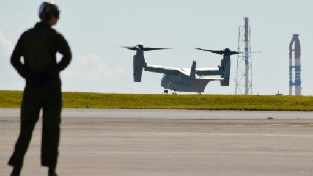 US military aircraft in 'mishap' off Australia
