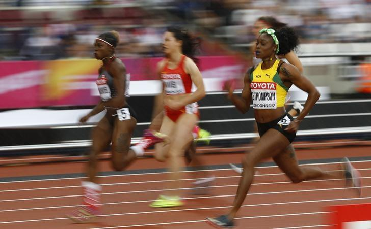 Thompson out to restore Jamaican pride in the women's 100m