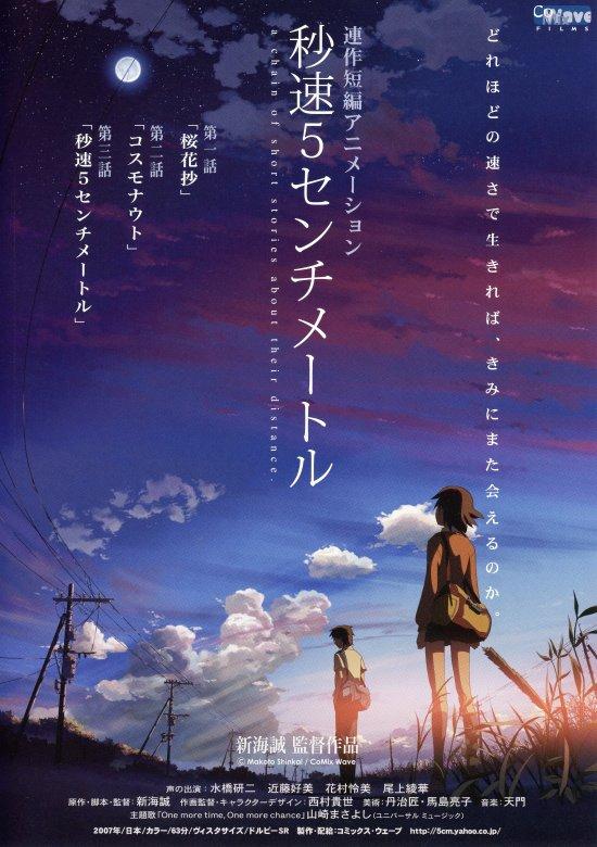 【アニメーション監督 新海誠の世界】から只今『君の名は。』『雲の向こう、約束の場所』が上映中です。8/12(土)からは『