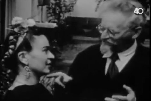 RT @openculture: Frida Kahlo and Diego Rivera Visit Leon Trotsky in Mexico. Video from 1938 https://t.co/2WyQPNxXY2 https://t.co/fKT6QVZ725