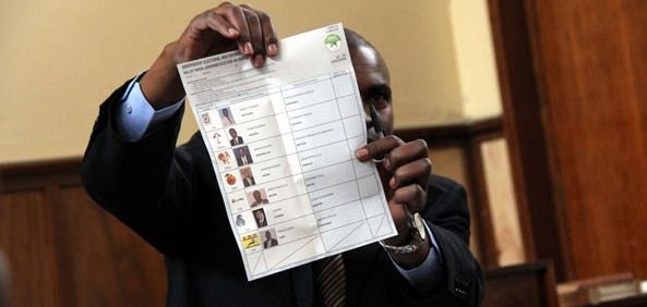 Marked ballot papers in Bungoma? IEBC clears the air