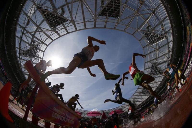 Athletics: Kenya struggle in 3,000m steeplechase heats