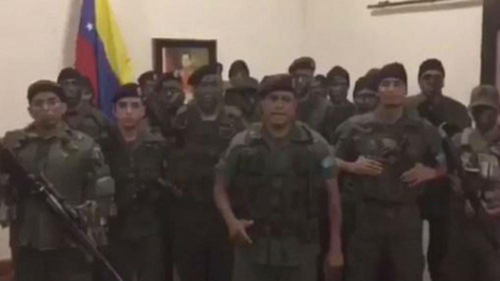 Failed military uprising in Venezuela