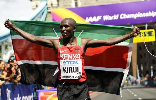 Kirui gives Kenya gold in men's marathon at worlds